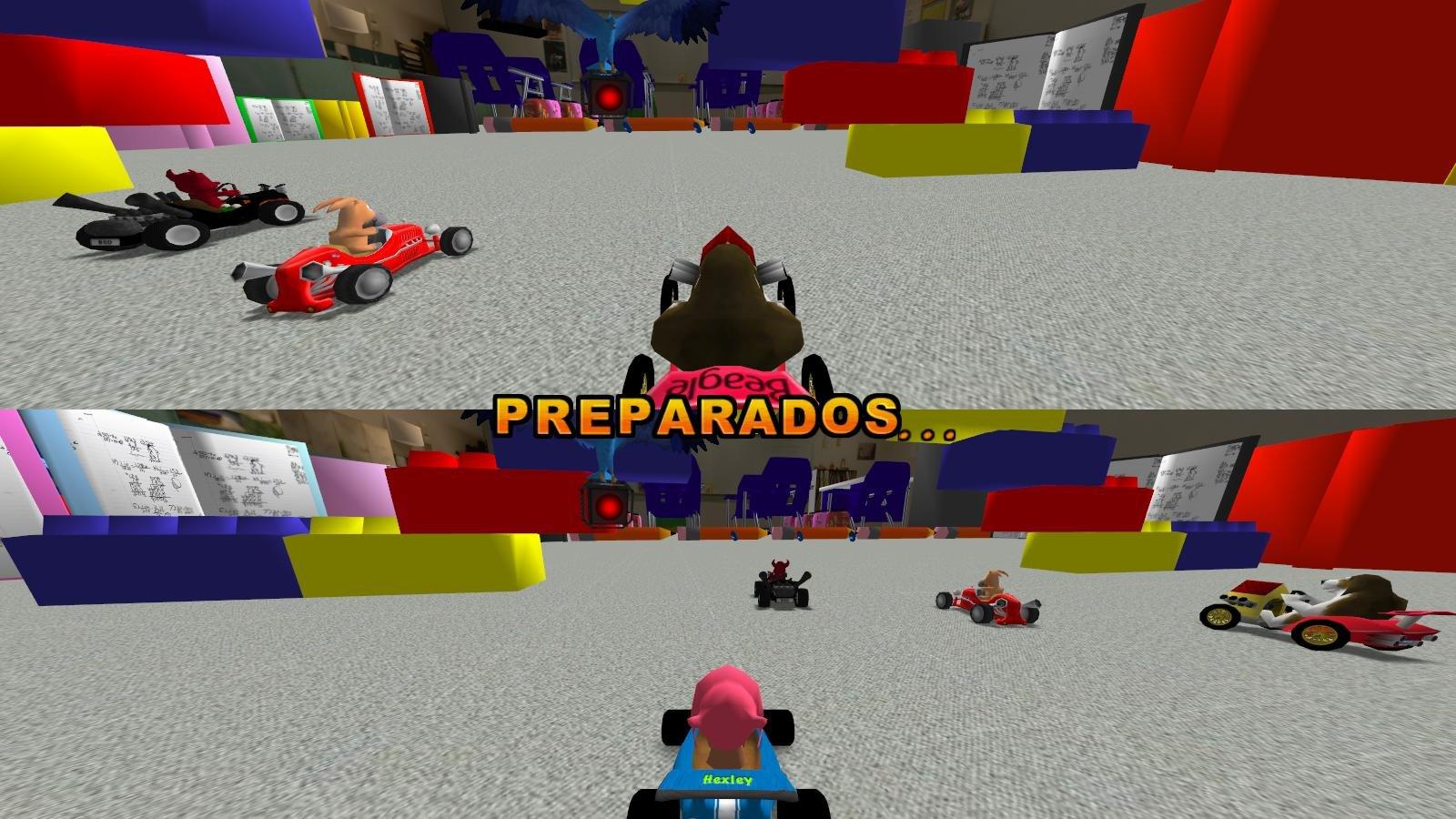 SuperTuxKart Game Screenshot