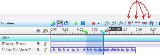 ActivePresenter layer editing