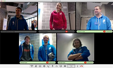 video chat conference